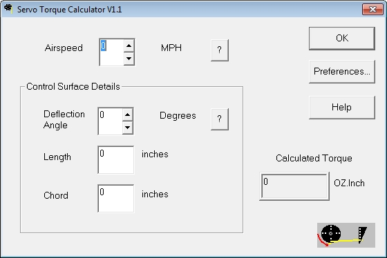 Rc tools itsqv for Servo motor sizing calculator online