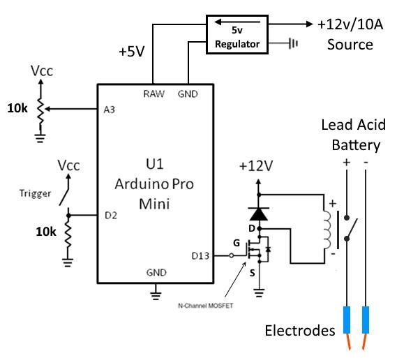DIY - Battery Pack Spot Welder - ItsQv | Spot Welding Schematic Diagram |  | ItsQv